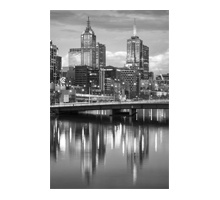 MM97-Melbourne CBD over the Yarra river